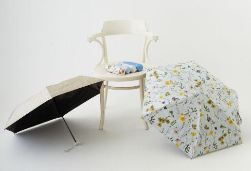 3秒で折りたためる傘「urawaza」から日傘がデビュー